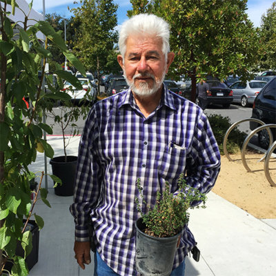 Nicolas from Salinas Farm at East Palo Alto Community Farmers' Market