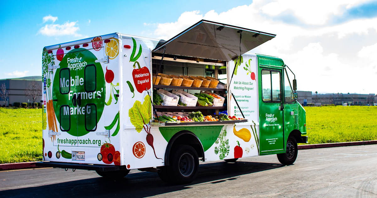 Mobile Farmers' Market   Fresh Approach